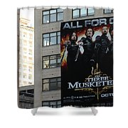 High Line Print 34 Shower Curtain