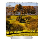 High On A Hill  Shower Curtain
