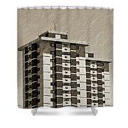 High Rise Apartments Shower Curtain