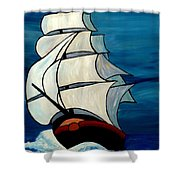 High Sea Shower Curtain