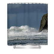 High Surf 2 Shower Curtain