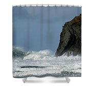 High Surf Shower Curtain
