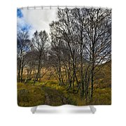 Highland Highway Shower Curtain by Gary Eason
