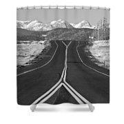 Highway 52   Shower Curtain