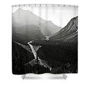 Highway 93a Shower Curtain