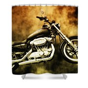Highway To Hell Shower Curtain
