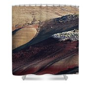 Hiking In The Painted Hills Shower Curtain