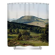 Hill And Dale Shower Curtain