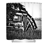 Hill Top Tumble  Shower Curtain