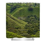 Hills Of Caizan 2 Shower Curtain