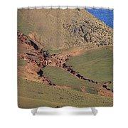 Hillside Erosion Caused By Run Shower Curtain