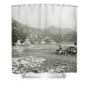 Himalayan Weather Shower Curtain