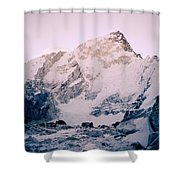Himalayas In Nepal Shower Curtain
