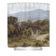 Hindhead From Sandhills Witley Shower Curtain