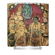 Hindu Wedding Ceremony Shower Curtain