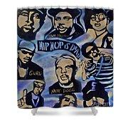 Hip Hop Is Dead #1 Shower Curtain