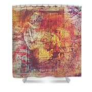 Hippies And The Sun Shower Curtain