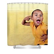 His True Colors Shower Curtain