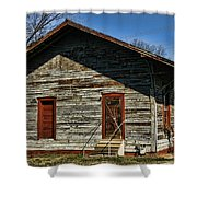 Historic Circa 1800s Railway Station Shower Curtain