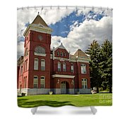 Historic Courthouse Marysvale Utah Shower Curtain