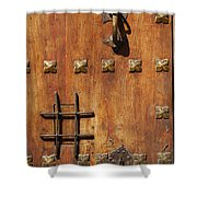 Historic Door Shower Curtain