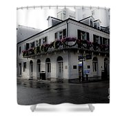 Historic French Quarter No 1 Shower Curtain