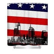 Historic Philadelphia  Shower Curtain