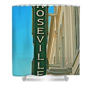 Historic Roseville California Shower Curtain