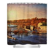 Historic Vulcan Paper Mill Shower Curtain