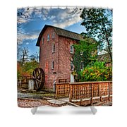 Historic Woods Grist Mill Shower Curtain