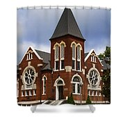 Historical 1901 Uab Spencer Honors House - Birmingham Alabama Shower Curtain