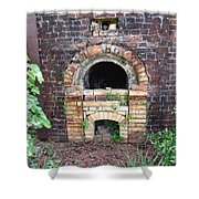 Historical Antique Brick Kiln In Morgan County Alabama Usa Shower Curtain