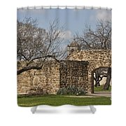 History Awaits Shower Curtain