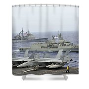 Hmas Ballarat Of The Royal Australian Shower Curtain