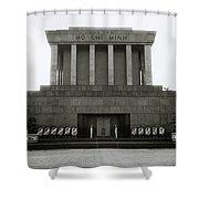 Ho Chi Minh Mausoleum Shower Curtain