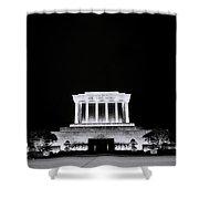 Ho Chi Minh Memorial At Night Shower Curtain