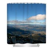 Hobart Tasmania Mount Wellington Shower Curtain