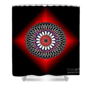 Hoberman Sphere Shower Curtain