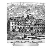 Hoboken: College, 1878 Shower Curtain