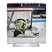 Hockey The Big Reach Shower Curtain