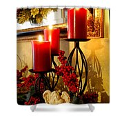Holiday Candles Hcp Shower Curtain