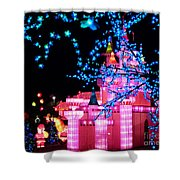 Holiday Lights 8 Shower Curtain