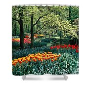 Holland Kuekenhof Garden Shower Curtain