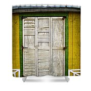 Holliwood Beach Door Shower Curtain