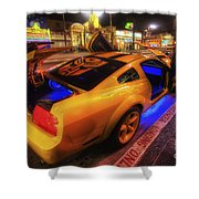 Hollywood Bumblebee Shower Curtain