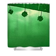 Hollywood Pool Shower Curtain
