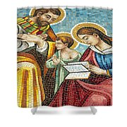 Holy Family At Catholic Church Shower Curtain