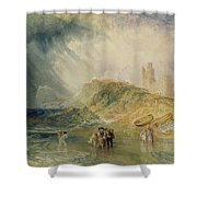 Holy Island - Northumberland Shower Curtain