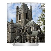 Holy Trinity Cathedral Dublin Shower Curtain