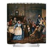 Home Again, 1866 Shower Curtain